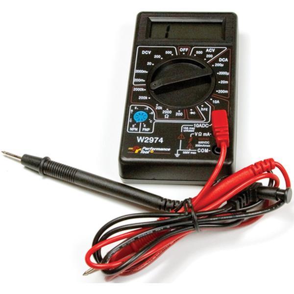 Transtar Transmission Parts >> Performance Tool Digital Multi-Tester   Northern Auto Parts