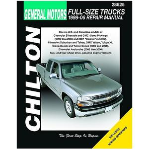 Chilton Repair Manual Chevrolet Full-size Trucks, 1999-07