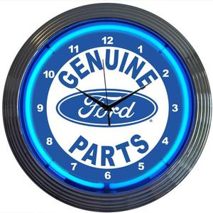 Neonetics 8FRDGP Ford Genuine Parts Neon Clock